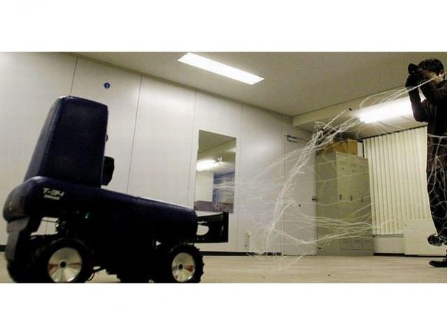 Японцы представили роботов-охранников