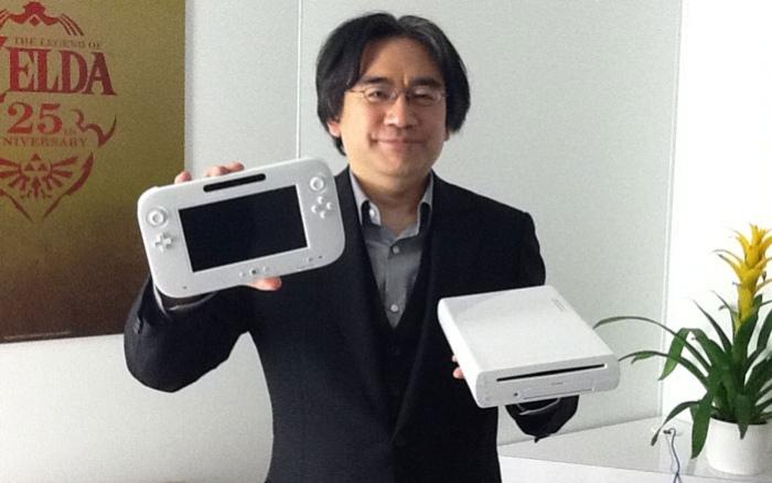Ивата рассказывает про Wii U