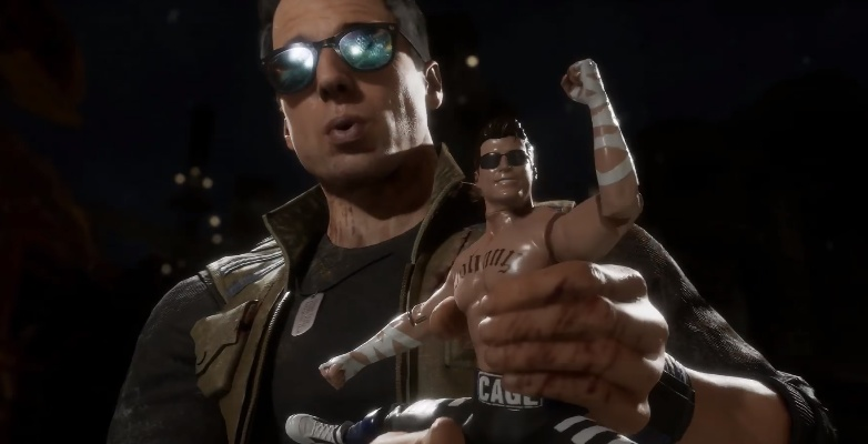 Джонни Кейдж за3 минуты пересказал события Mortal Kombat11