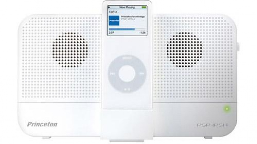 Мини-стерео для iPod