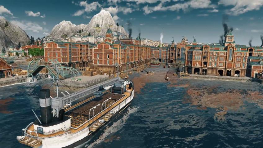 Теперь игроки Anno 1800 могут превратить свой город в центр мировой торговли