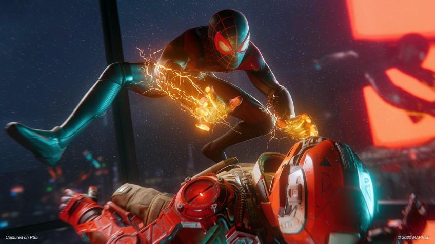Sony показала первую обложку игры для PS5 — это «Человек-паук: Майлз Моралес»