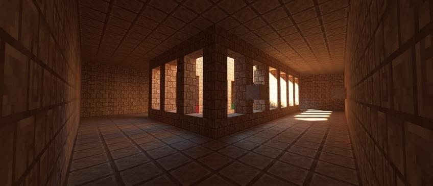 Полчаса игры в Minecraft с рейтрейсингом и в 60 FPS