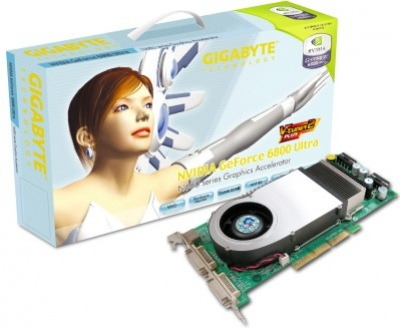 Видеокарты на GeForce 6800 – версия Gigabyte