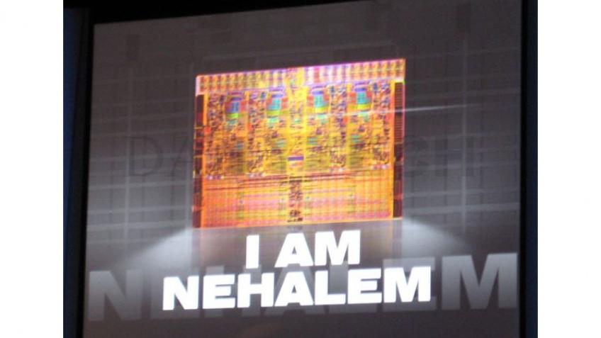 Первый Intel Nehalem уже произведен