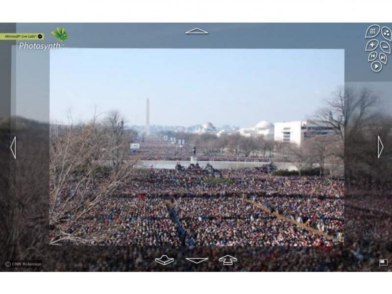 Microsoft Photosynth порадовала Обаму