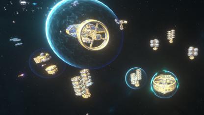 Космическая стратегия Stellar Warfare выходит в ранний доступ4 августа