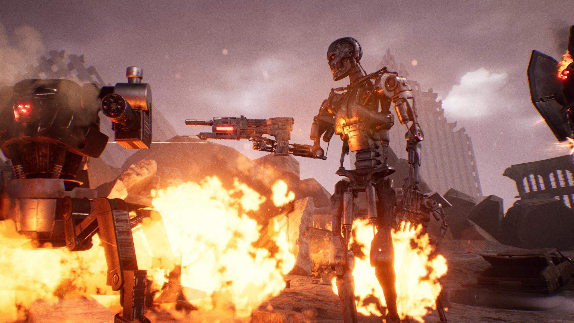 Версия Terminator: Resistance для PlayStation5 задержится на месяц