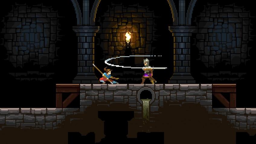 Пиксельная метроидвания Savior позволит игрокам почувствовать себя Арьей Старк