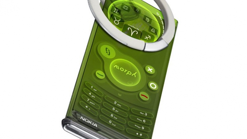 Полиморфный нанотелефон от Nokia