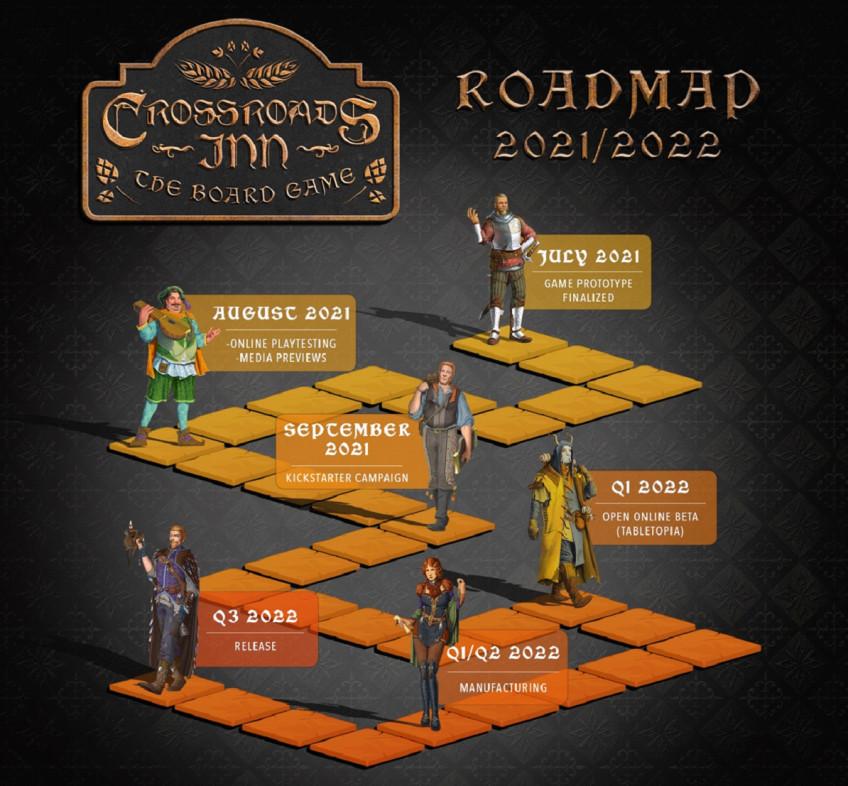По Crossroads Inn делают настольную игру1