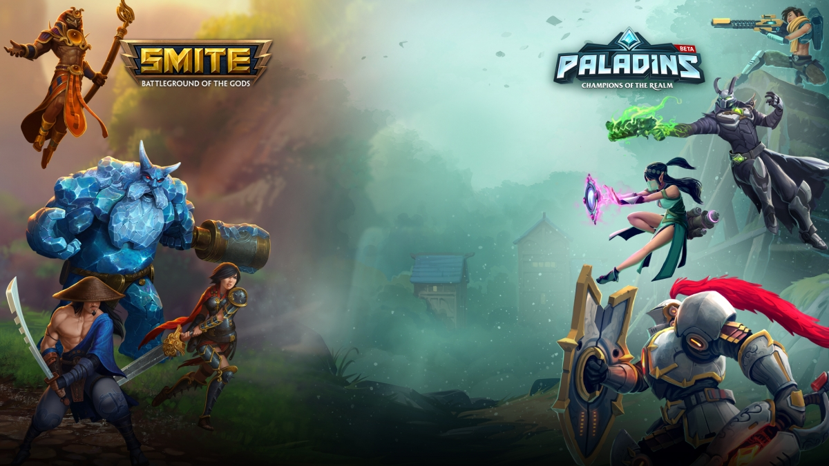 Создатели SMITE и Paladins посетят gamescome и разыграют три подарочных набора