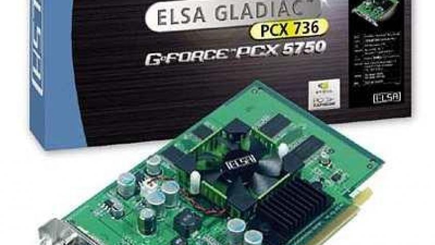 Видеокарта Gladiac PCX 736 256 Мбайт от ELSA