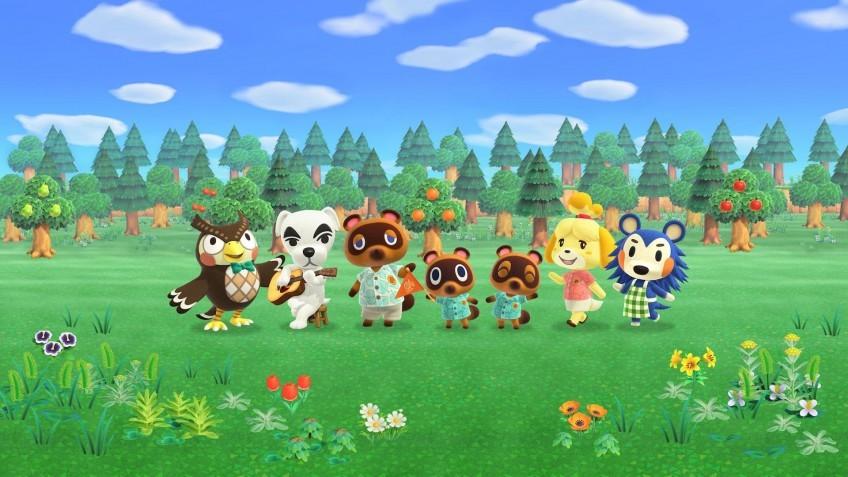 Animal Crossing: New Horizons удерживает лидерство в рознице Японии