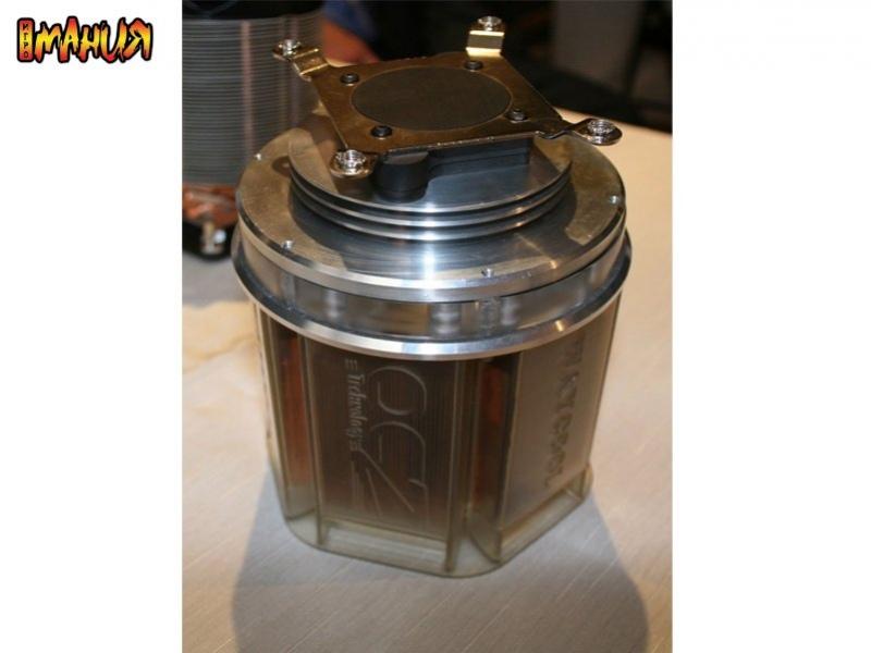 Computex 2007: кулер на основе нанотрубок