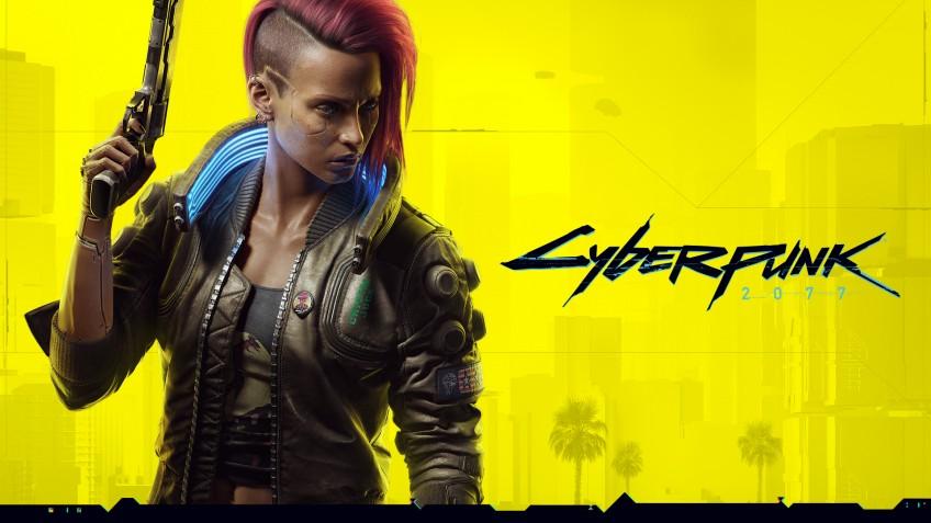 К8 марта создатели Cyberpunk 2077 показали постер с женской версией Ви