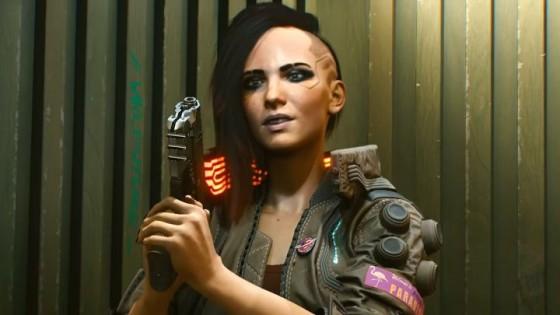 К8 марту создатели Cyberpunk 2077 показали постер с женской версией Ви