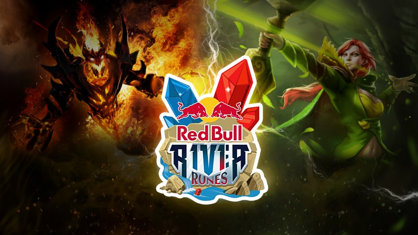 Red Bull провела турнир по Dota2 в формате R1v1r Runes