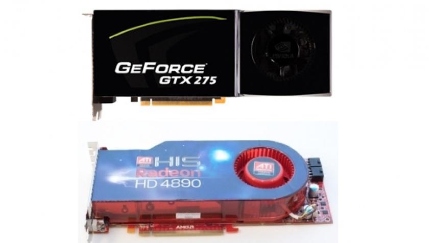 GeForce GTX 275 и Radeon HD 4890 официально