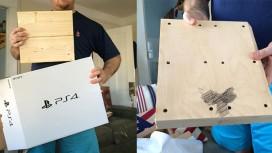 Американцы купили сыну PS4, но внутри оказался деревянный брусок