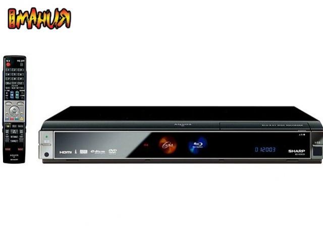 Sharp готовит Blu-ray плееры с HDD