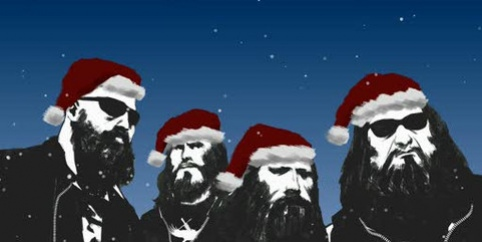 Midnight Riders из Left4 Dead2 поздравляют с Рождеством