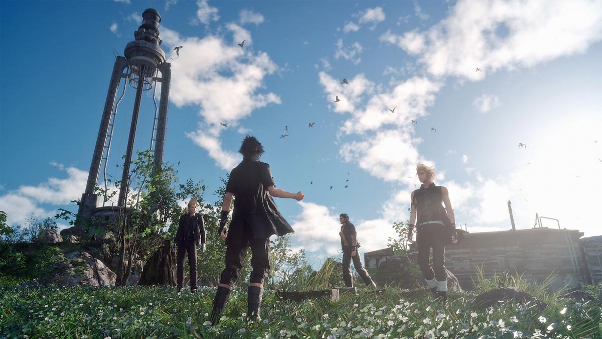 Планы на Final Fantasy XV: четыре DLC, новая концовка и кроссовер с Ларой Крофт
