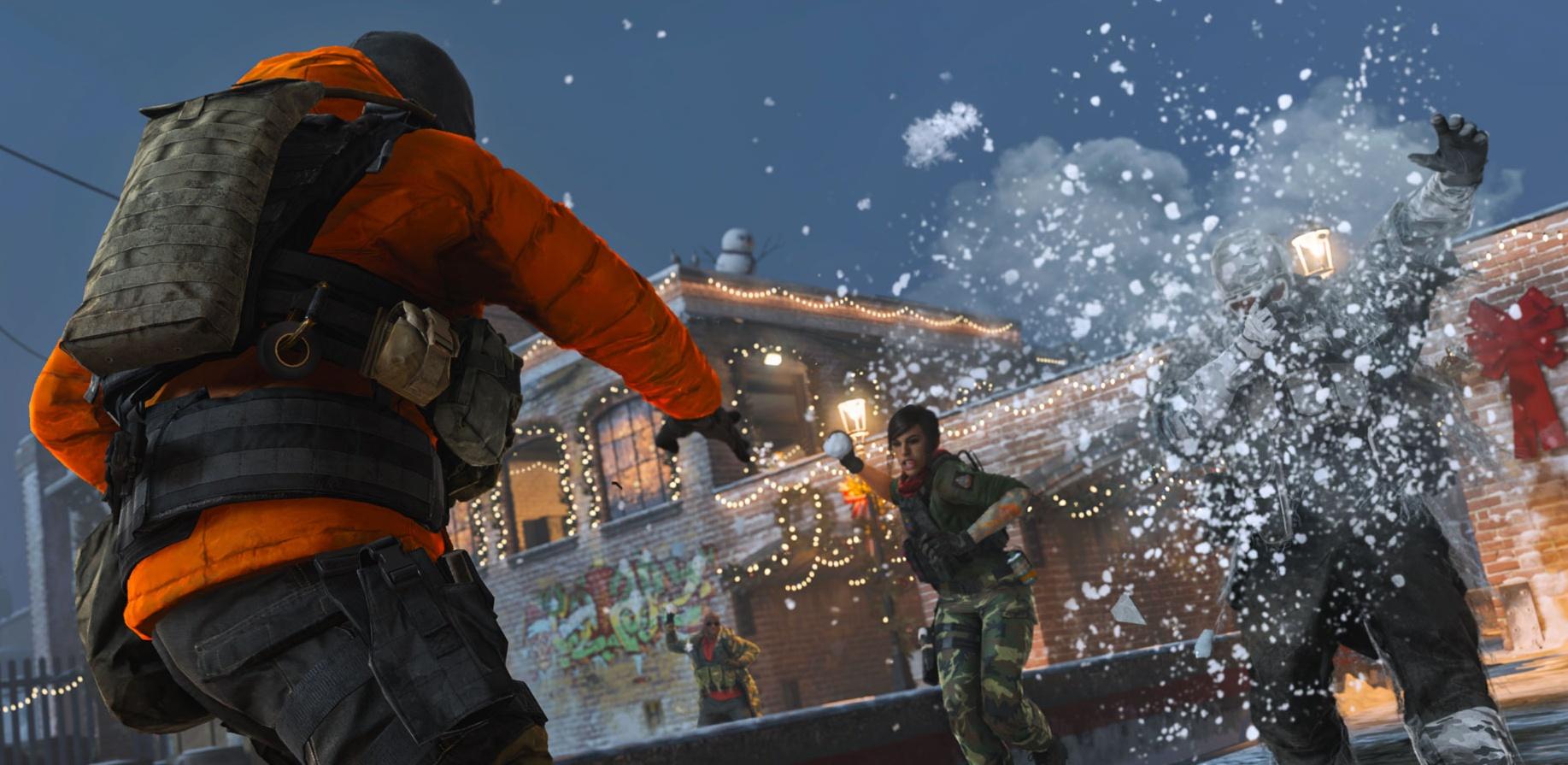 Сегодня в Call of Duty: Modern Warfare добавят снежки