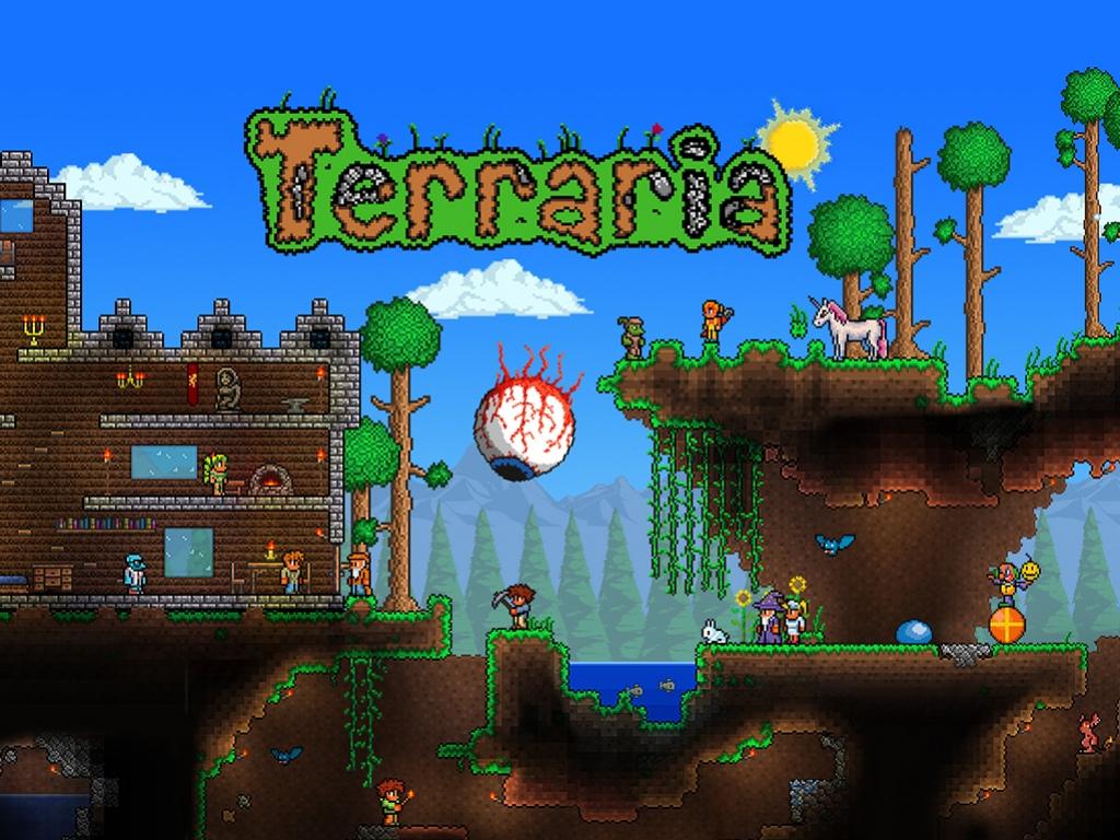 Terraria для PS4 станет втрое больше