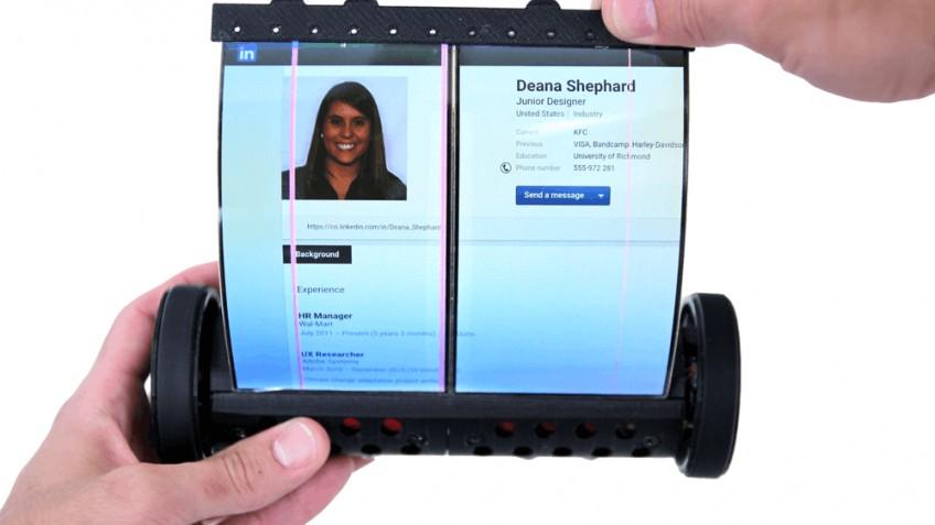 Утечка: Sony разрабатывает смартфон-свиток