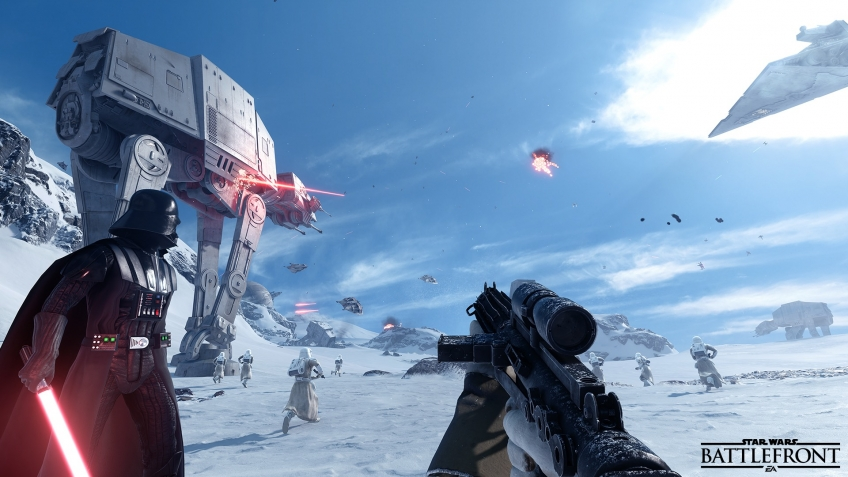 Star Wars Battlefront I, II, III: Star Wars Battlefront за 719 руб.