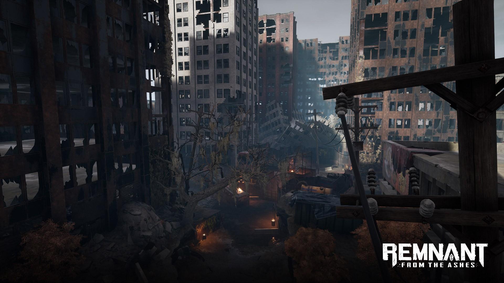 Авторы Remnant: From the Ashes показали мир ядерных пустошей