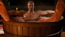 В России начались предзаказы фигурки ведьмака Геральта, принимающего ванну