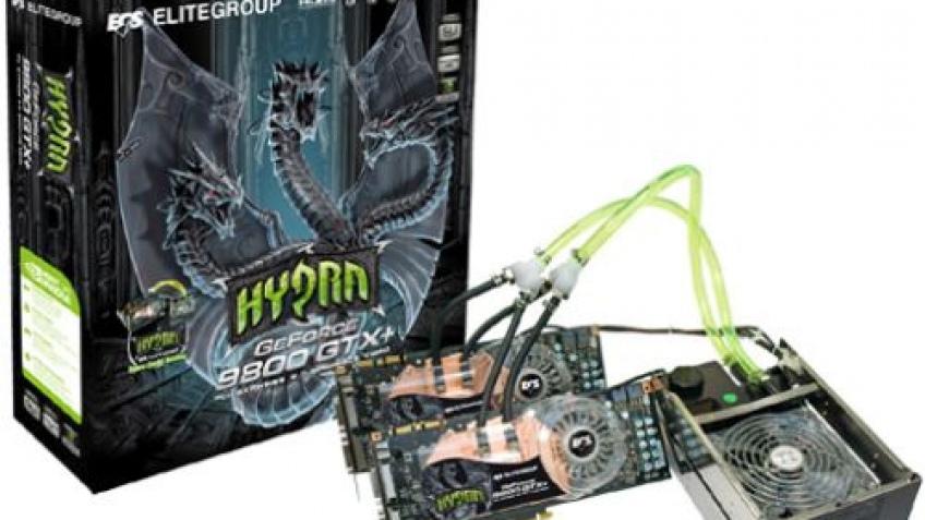 ECS готовит двойной комплект GeForce 9800 GTX+