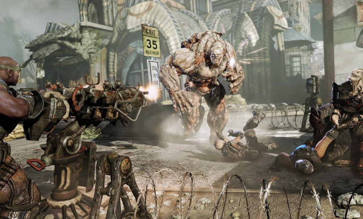 Gears of War3 не подвел Microsoft