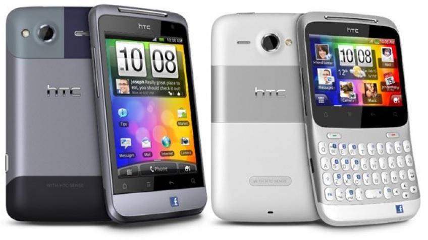 HTC Salsa и HTC Chacha - мобильники для любителей Facebook