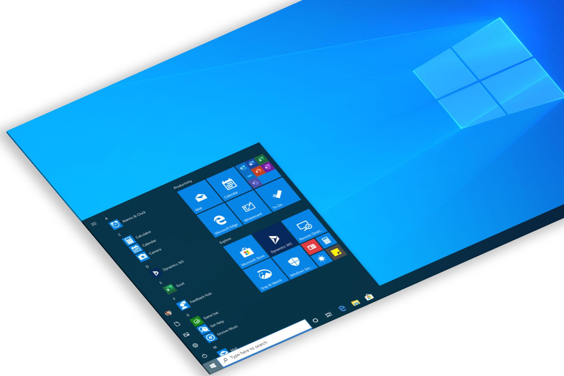 Тестовая версия Windows 10 показала изменения в меню «Пуск»