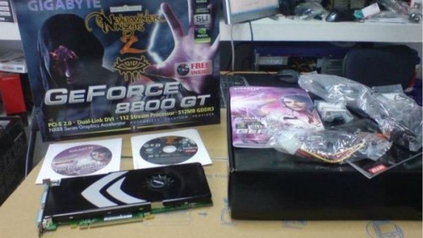 Фотография GeForce 8800 GT от GIGABYTE