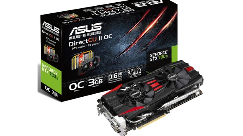 ASUS выпустила видеокарту GeForce GTX 780 Ti DirectCU II OC