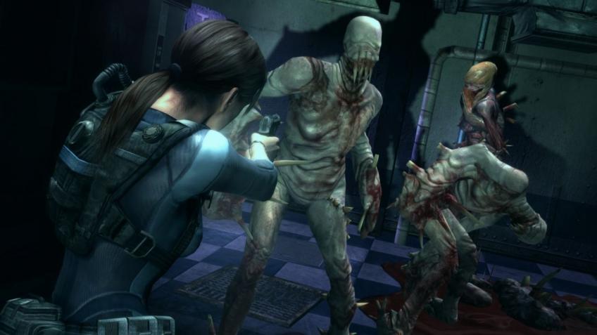 Capcom показала геймплей из Resident Evil: Revelations для PS4