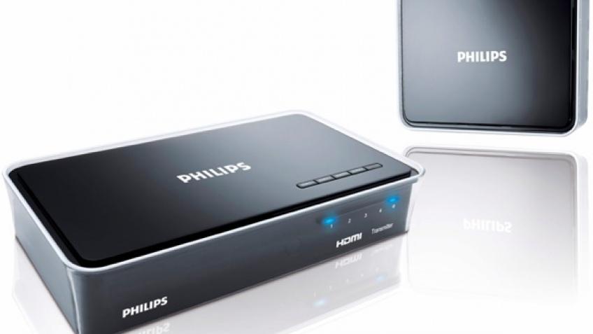Трансмиттер Philips передаст HD-сигнал без проводов