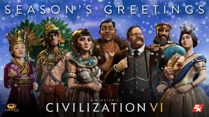 Игровые студии и компании поздравляют с Новым годом