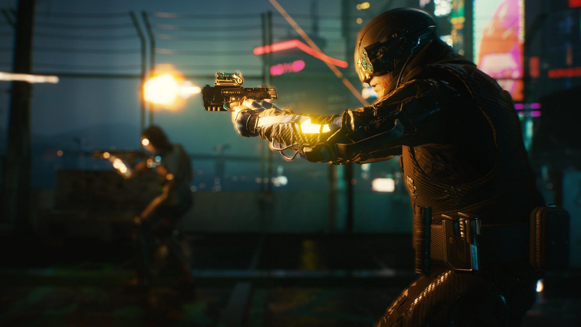 RTX On:9 скриншотов Cyberpunk 2077 с трассировкой лучей от NVIDIA