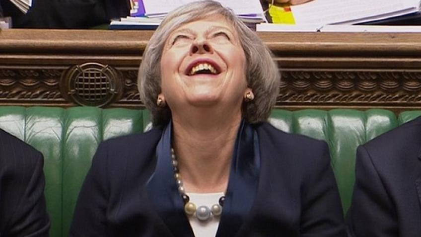 Ищем применение «злобному» смеху премьер-министра Великобритании