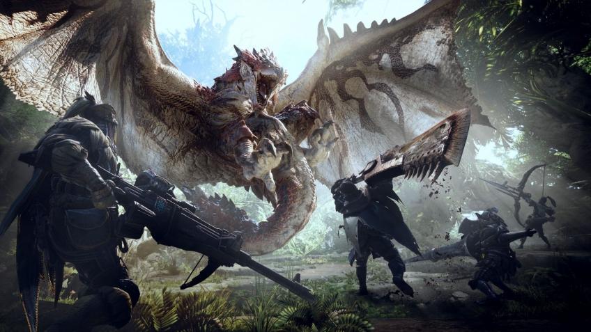 Capcom показала14 видов оружия в Monster Hunter World