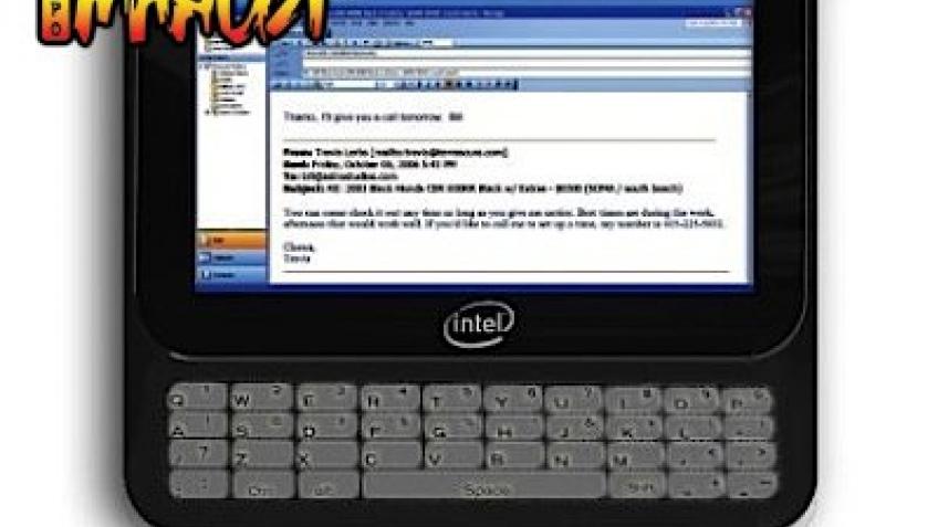 Intel на рынке UMPC?