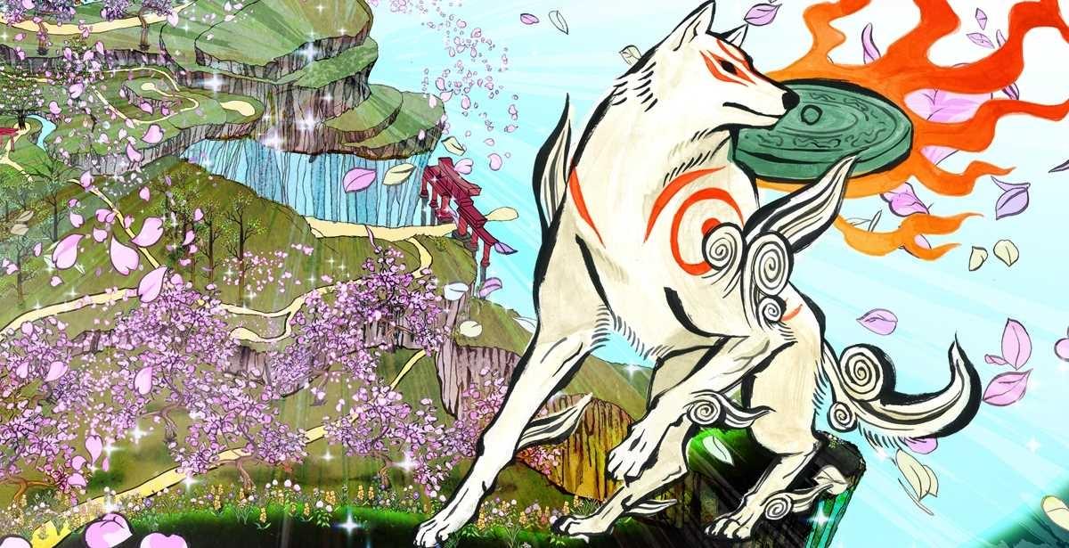 Авторы Okami HD показали курящую птицу, пьющую овцу и быка с руками