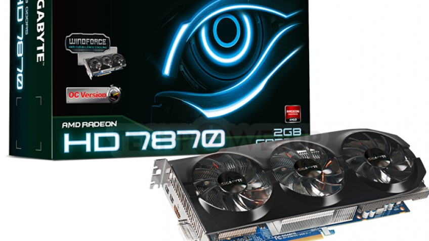 Модификации на основе AMD Radeon HD 7800