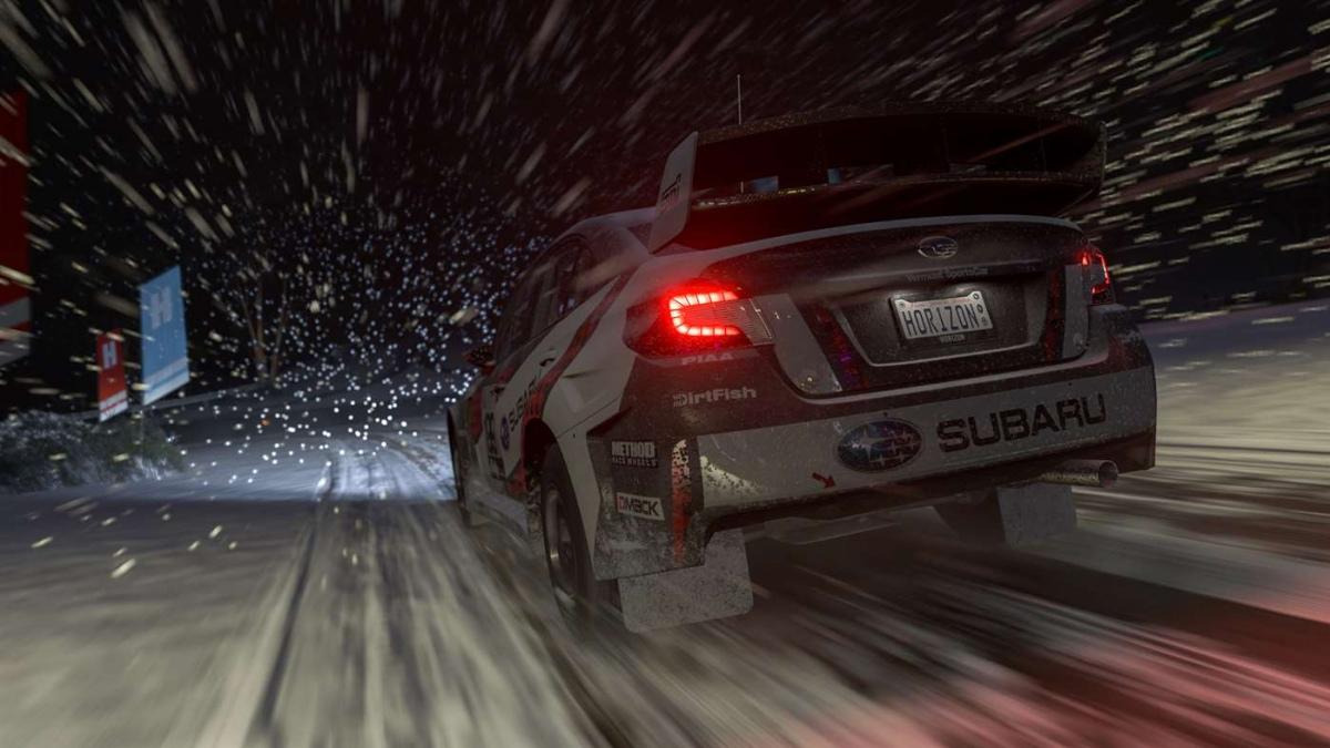 Для Forza Horizon3 вышло «зимнее» дополнение