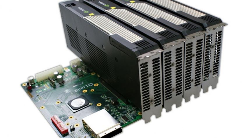 Lucid представила чип Hydra для систем с несколькими видеокартами